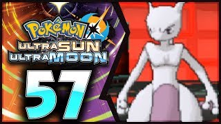 Pokemon Ultra Sun and Moon: Part 57 - FINAL BOSS Giovanni & MEWTWO! [Post-Game 100% Walkthrough]