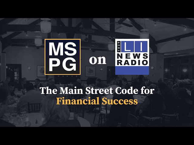 The Main Street Code for Financial Success - April 30th, 2021