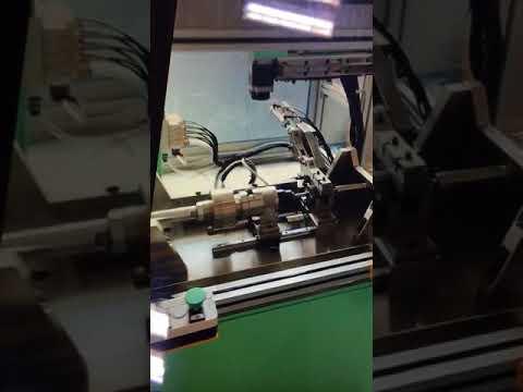 EPS Motor commutator place to shaft lamination Shanghai Wind Automation