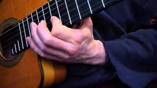 semi classical guitar Dominant Pentatonic improvisation