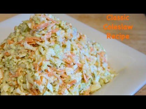 Classic Coleslaw Recipe