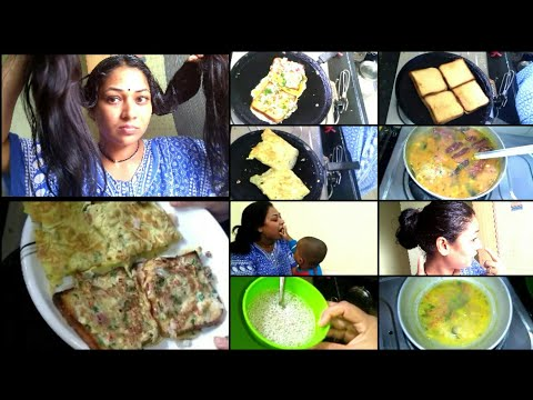 #DIML SUNDAY SPECIAL BREAKFAST BREAD OMELETTE|HAIR PACK TO STOP HAIR LOSS & FOR FASTER HAIR GROWTH.