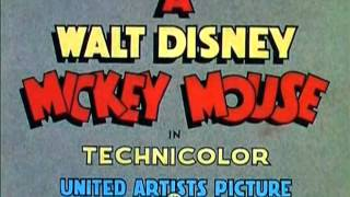 "Mickey Mouse - ""Pluto's Judgement Day"" (1935)- recreation titles"