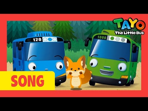 Here We Go Looby Loo l Nursery Rhymes #8 l Tayo the Little Bus