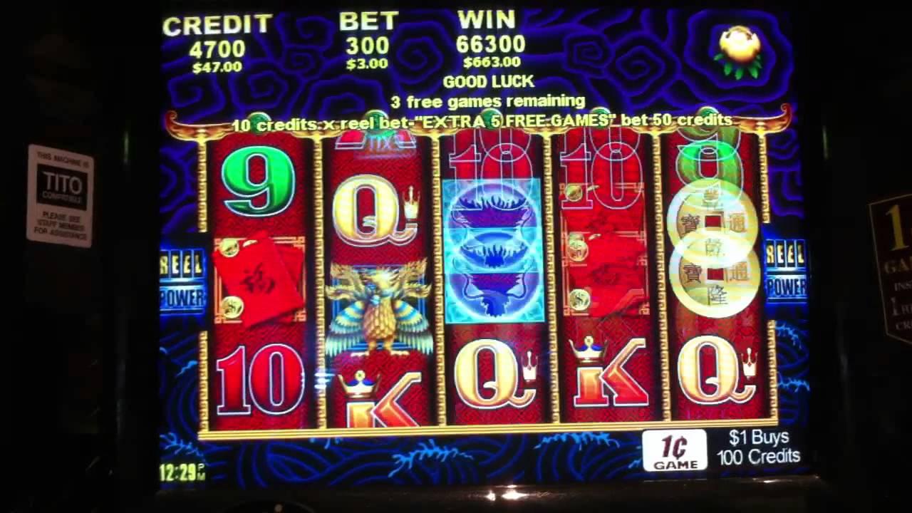Poker Machine: FIVE DRAGONS POKER MACHINE POKIES BIG WIN