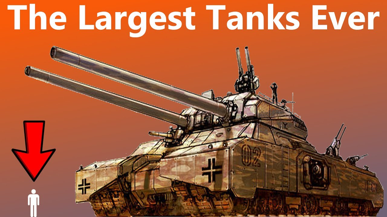 these are the largest tanks ever designed youtube