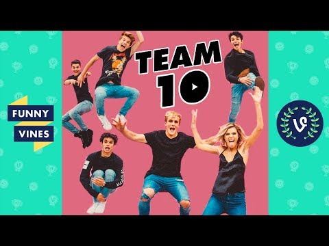 Thumbnail: TEAM 10 (ft. Jake and Logan Paul) Compilation 2017 | Funny Vines Videos