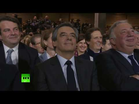 Premier grand meeting à Paris pour François Fillon (Direct du 29.01)
