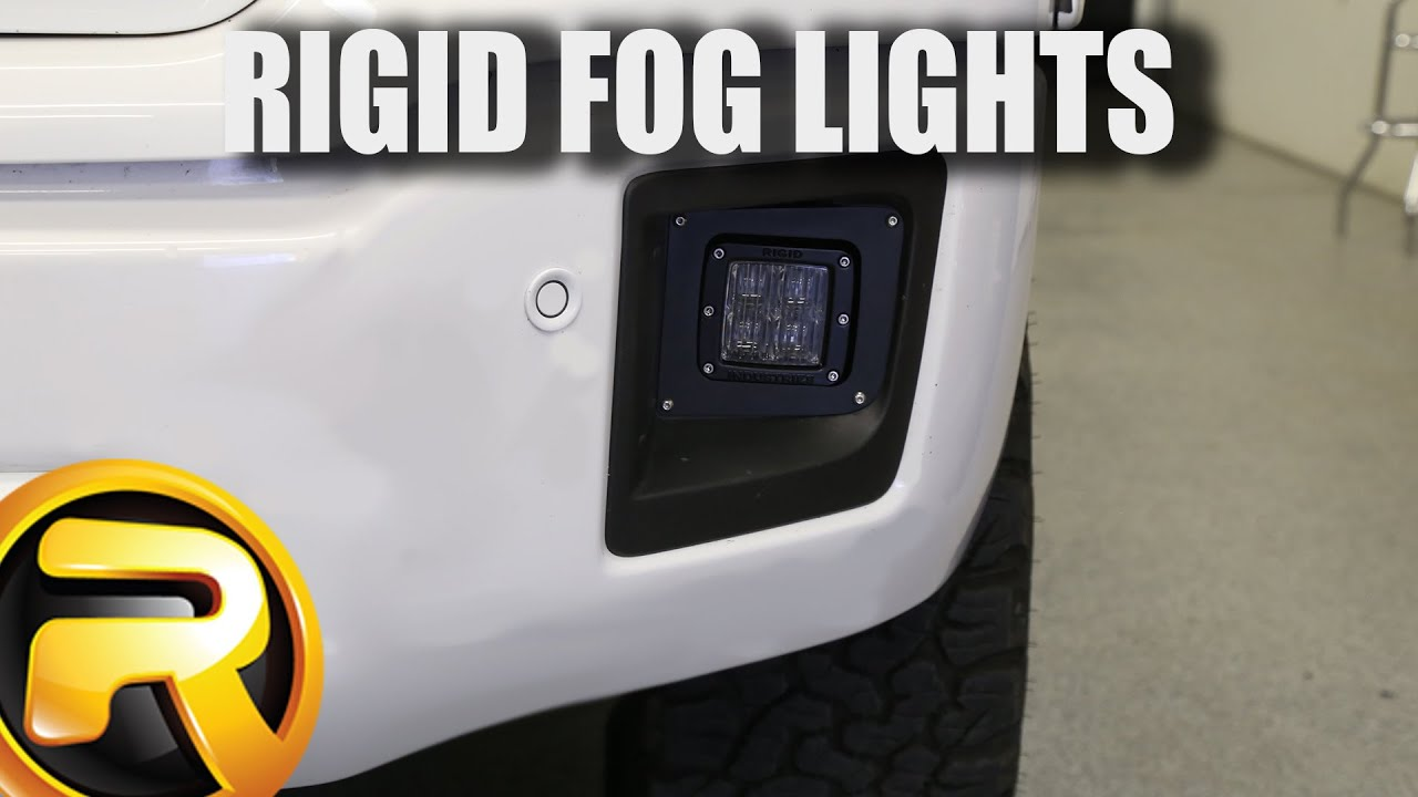 How To Install Rigid Industries Fog Lights Youtube