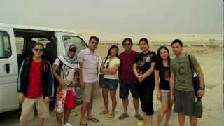 singing sand dunes,Qatar