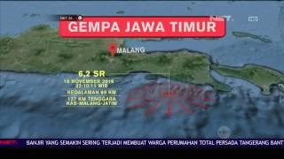 Gempa 6,2 SR Guncang Jember, Jawa Timur, Warga Sempat Panik - NET 24