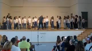 Μουσικό Σχολείο Αθήνας   Η Κατάρα Του Πεύκου (Στ. Βασιλειάδης-Ζ. Παπαντωνίου)   Ευρ. Χορωδία Α' Γυμν