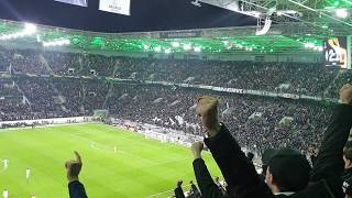 Borussia Mönchengladbach Fans Reaction To Thuram Last Minute Winning Goal Vs Roma