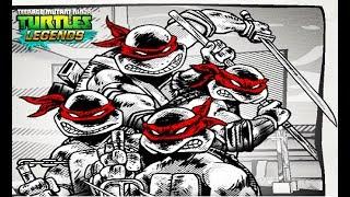 Черепашки Ниндзя Легенды #207 Испытания СЦЕНЫ НАСИЛИЯ мультфильм игра TMNT Legends UPDATE X