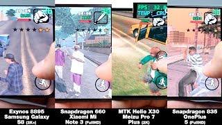Snapdragon 835 vs Exynos 8895 vs MTK Helio X30 vs Snapdragon 660! БОЛЬШОЕ СРАВНЕНИЕ! FPS + НАГРЕВ!