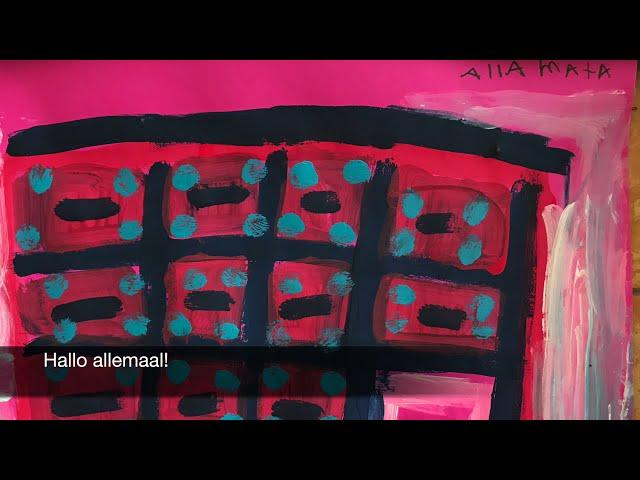 2020 - Werken als een Kunstenaar Julia dos Santos Baptista Ateliers2005 Amstelveen