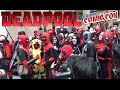 DEADPOOL FLASH MOB TAKES OVER NEW YORK COMIC CON!! Epic Convention Invasion