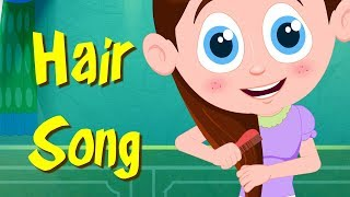 Hair Song | Schoolies Compilation Of Video For Toddlers | Shows For Babies by Kids Channel