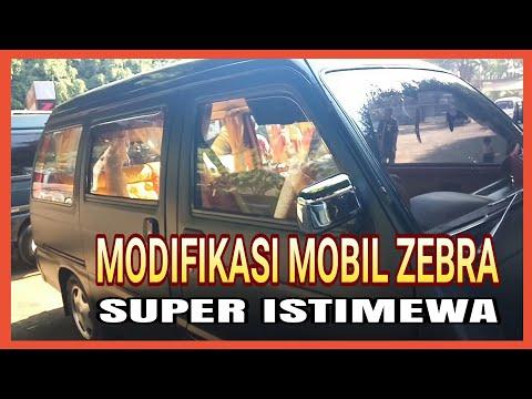 Modifikasi Mobil Zebra SUPER ISTIMEWA || Mini Bar Dalam Mobil