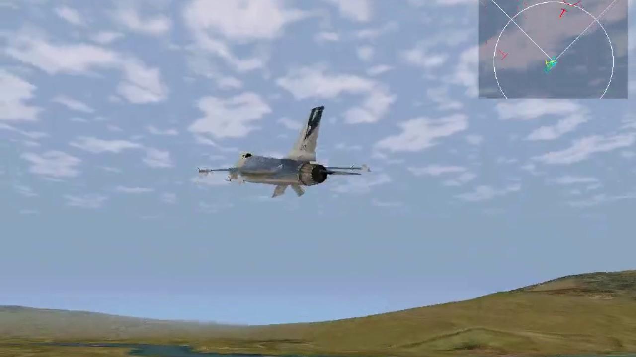 F 16 multirole fighter setup