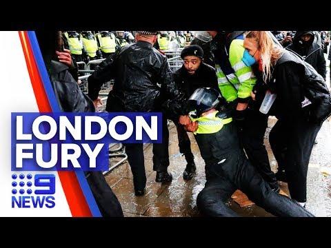 London police injured