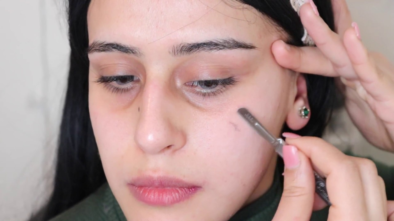 تعرفي علي الطريقه الصحيحة لحلاقة شعر الوجه للنساء فقط نادرين موسي Youtube