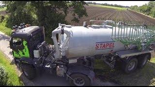 Agrotruck Stapel mit Schleppschlauch Güllefass Landwirtschaft