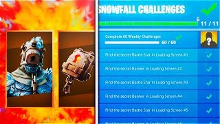 How To UNLOCK! FIRE KING FAST! In Fortnite Season 7 (Fortnite Snowfall Skin)