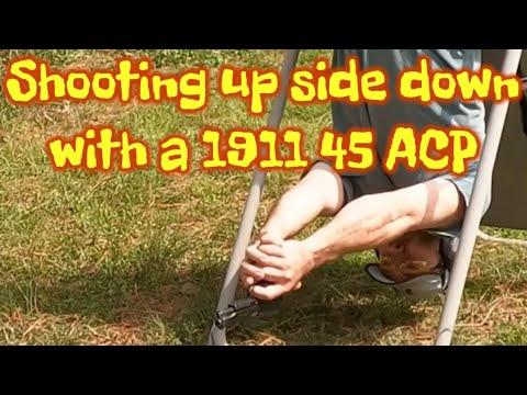 Shooting a 1911 para ordinance upside down