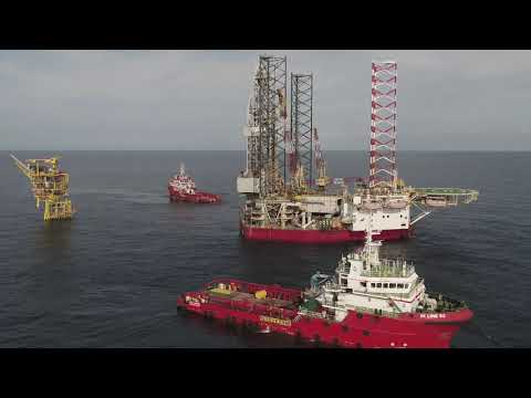 Jack Up Rig Move