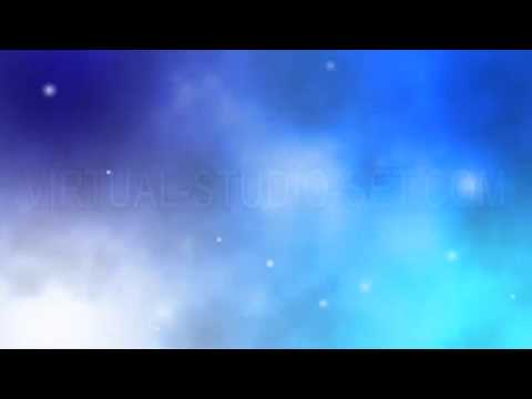 Blue Galaxy Background Loop Animation - YouTube