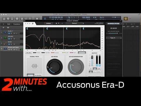 Accusonus Era-D VST/AU plugin in action