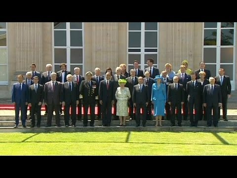 International leaders and veterans mark D-Day, 70 years on