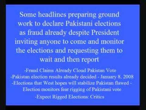 News Media Manipulating News about Pakistan
