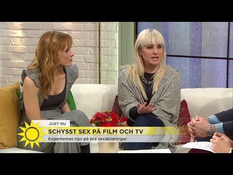 Schysst sex på film och tv - Nyhetsmorgon (TV4)