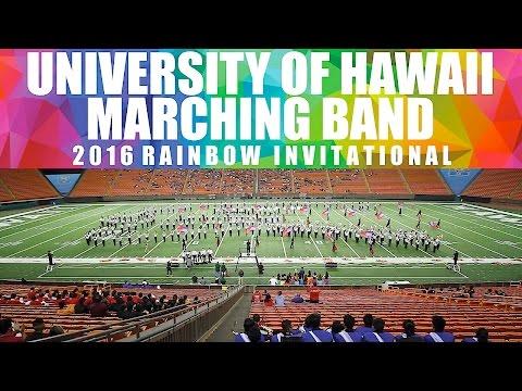 "LATIN FANTASY | University of Hawaii ""Rainbow Warrior"" Marching Band | 2016 Rainbow Invitational"