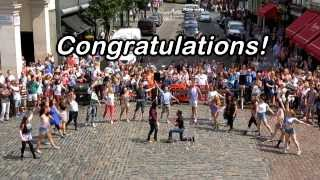 Covent Garden Dancing Flashmob - Amazing London Proposal