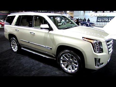 2015 Cadillac Escalade - Exterior and Interior Walkaround - 2014 Chicago Auto ...