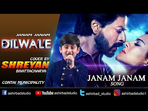Janam Janam With lyrics – Dilwale | Shah Rukh Khan | Kajol | Best Performance Ever Shreyan