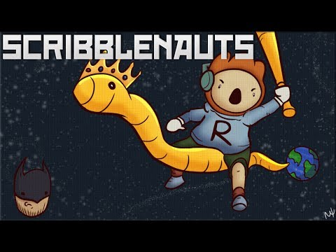 Scribblenauts Unmasked: Ridable Wrecking Ball of Crocodile Eagle Shark Fight!