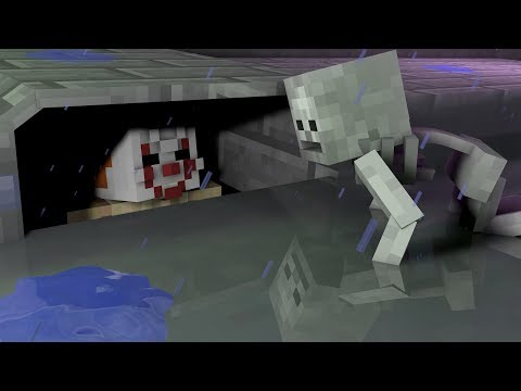 Monster School: IT SCARY SEWER CHALLENGE!! - Minecraft Animation thumbnail