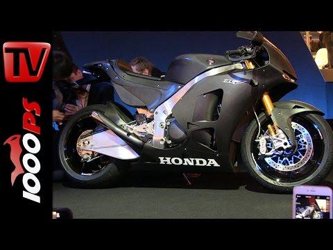 Honda RC213V-S First-Look + Soundcheck with Marc Márquez Foto