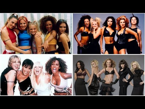 Evolution of Spice Girls (Chart History 1997 - 2007)