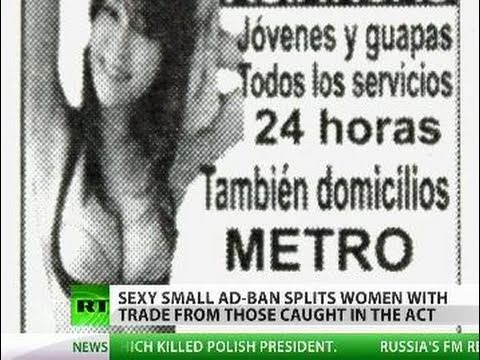 Sex Ad Ban Buzz: Spain split as law targets vice mafia, hurts industry
