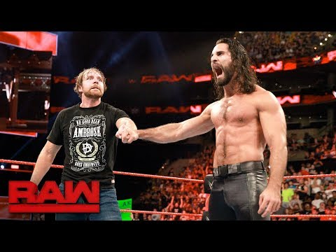 Thumbnail: Seth Rollins and Dean Ambrose reunite: Raw, Aug. 14, 2017