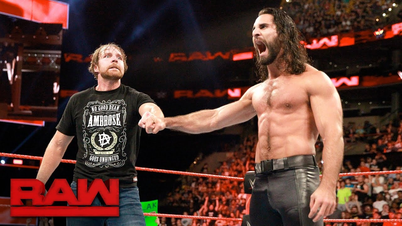 WWE Superstars Dean Ambrose and Seth Rollins