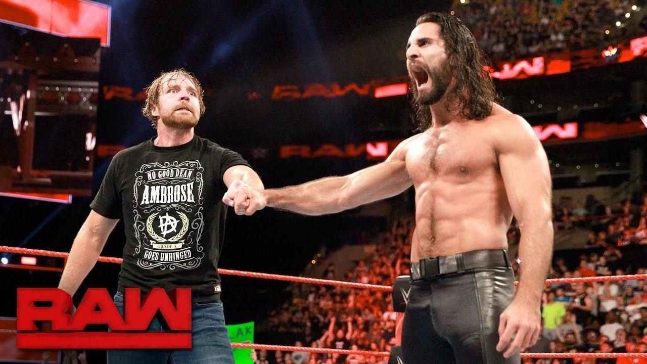WWE Superstars Dean Ambrose and Seth Rollins