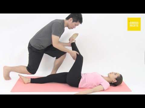 16中臀筋のストレッチ指導法