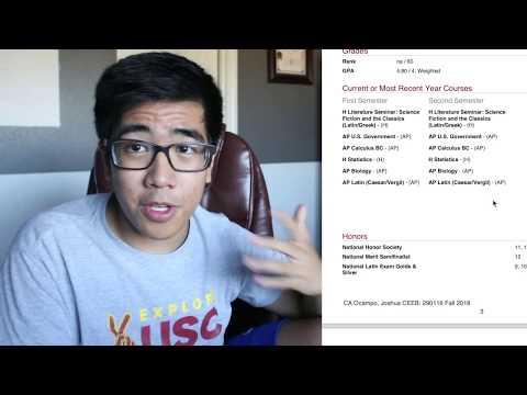 REVEALING MY HIGH SCHOOL GPA + TRANSCRIPT (AP Classes & Grades) || Dartmouth '22