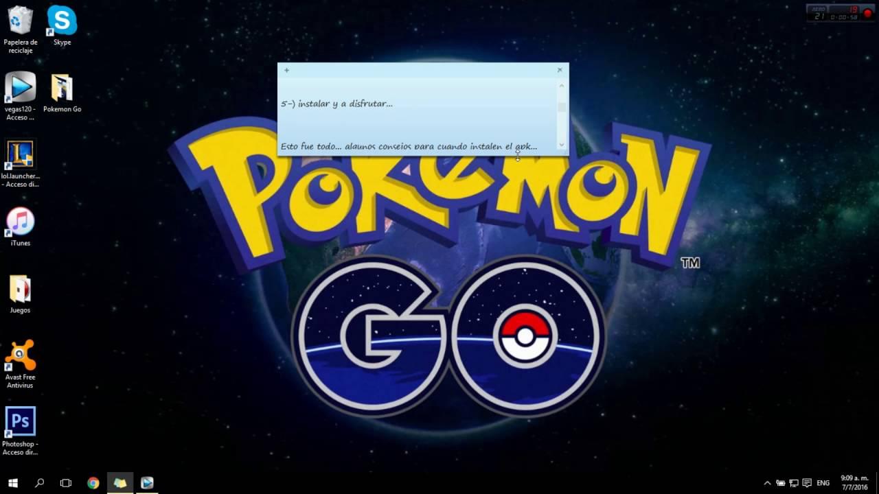 descargar pokemon go apk android